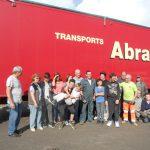 Départ 30ème camion bouchons plastiques Yonne le 26 septembre 2017