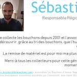 Sebastien, collecteur depuis 2001