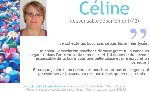 Céline, collectrice depuis les années lycée
