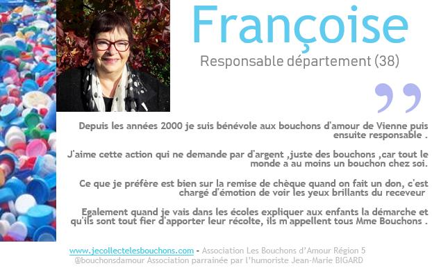 Françoise, collectrice depuis 17 ans