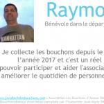 Raymond, bénévole depuis un an