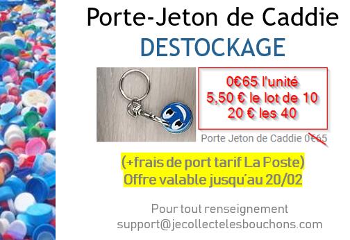 Porte-Jeton de Caddie